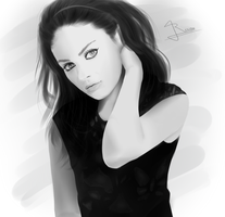 Primer intento - Mila Kunis by RenzoFlame