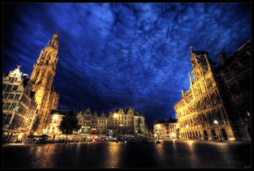 Anvers by night by zardo