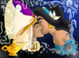 Aladdin and Jasmine by AmandaPerez