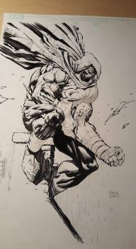 Moon Knight Finch and Friend WIP 4 by Blasterkid