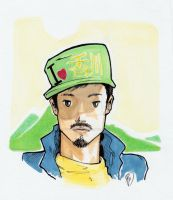 Tom marker doodle by innerpeace1979