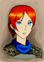 Ellie Rose (anime style) by ThomChen114