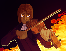 chaotic evil bards by 1ore