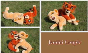 Jemini Couple by Laurel-Lion