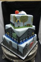 New york theme cake by ninny85310