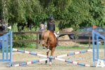 Pony Jumping a Cross - Young Riders Test by LuDa-Stock