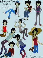 Marshall Lee Oufits by BrookiexMonster