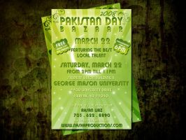 Pakistan Day poster by Fahad by creativefad