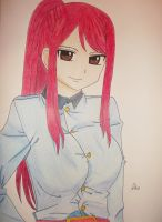 Erza Scarlet by xAlisa-chanx