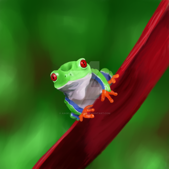 Frog by AngelInTheHeart