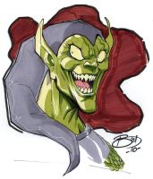 HoHoHo, Green....goblin? by bathill8