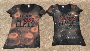 Team Edward Elric Shirt comparison-front by Kiku-Goldenflower