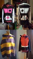 Undertale hoodies by simakai