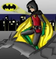 Damian Wayne by IgnitingLights