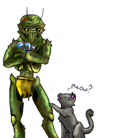 No My cat food by Juddlesart