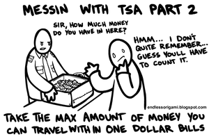 Messing with TSA Part 2 by endlessorigami