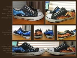 Fantasy shoes by Moon-wraith-x