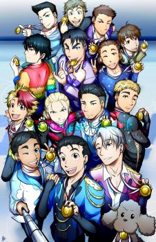 Gold Medals: Yuri!!! On ICE by Smudgeandfrank