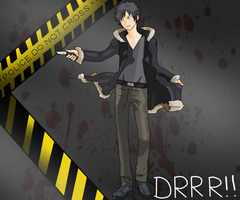 Izaya Orihara Wallpaper by TheEternalManga
