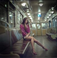 ... in metro by Evgeniy-Korchak