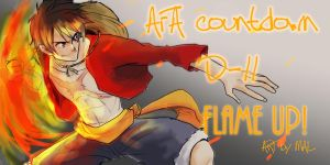 AFA-LUFFY FLAME UP DAY 11 by MALMAL90