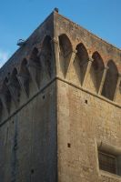 Old Prison wall.1 Volterra. Italy by jennystokes