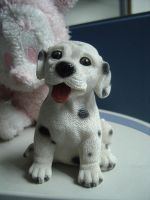 Objects: Puppy Figurine by disenchantedstock