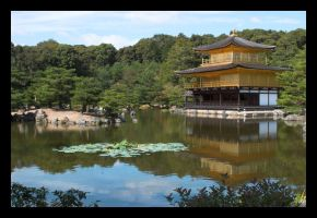 Golden Temple, Kyoto by c-lue