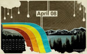 april 08 wallpaper by fudgegraphics