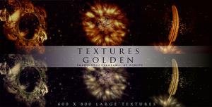 Large Texture Golden by ImagineThousanDreams
