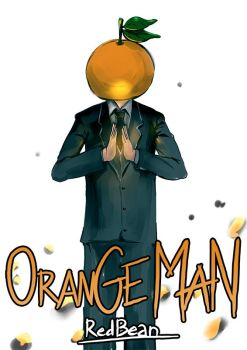 Orange-Man Comic by DRedbean