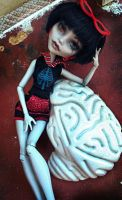 Ghoulia Yelps OOAK Monster High 4\4 by PixieLify