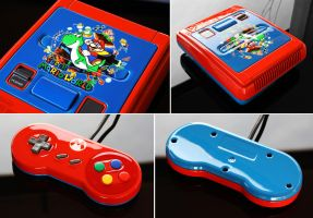 custom Super Mario World SNES by Zoki64