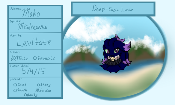 Deep-Sea Lake- Mako by littlerain999