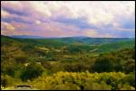 Clouds over Tuscany by Nameda