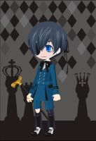Ciel Phantomhive by PeachyBunn