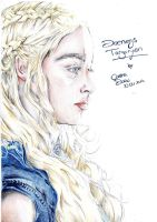 Daenerys Targaryen by PrincessPokemon