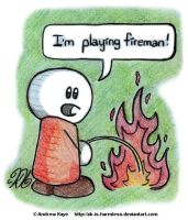 Playing Fireman by AK-Is-Harmless