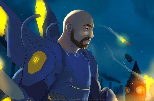 OVERWATCH commission by Chemical-Rhino