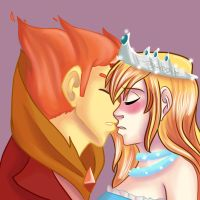 shai3518 Commission: Just One Kiss by Freyamustdie