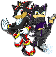 CP: Shadow and Shala by glaciethewolf