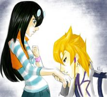 Jack x Carly- Kiss on the Hand by KarniMolly