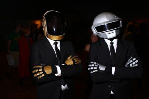 ColossalCon 2014 - Daft Punk 1 by VideoGameStupid