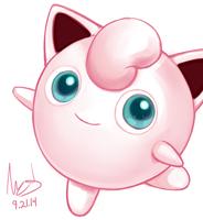 9.21 Jigglypuff by hybridmink