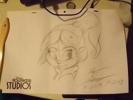 Vanellope Drawing by Slasher12