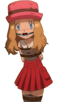 Serena Tied Up & Gagged 4 by songokussjsannin8000
