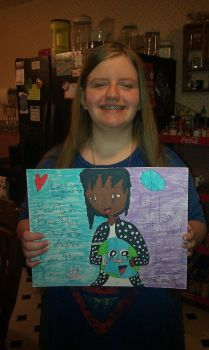 Me and my Art project by coreena12
