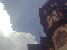 Peles castle tower by beth16
