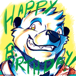 Happy Birthday, Tairu! by GaFreitasArt