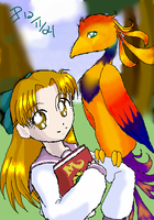Eiko and Brigett by LittleMacarons